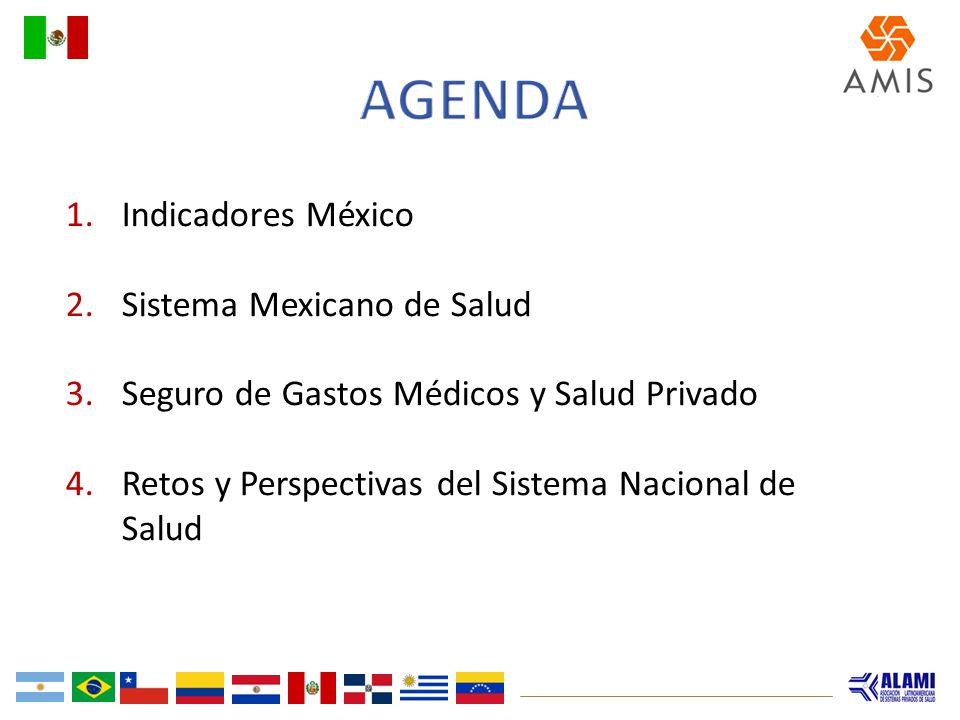 Agenda Indicadores México Sistema Mexicano de Salud