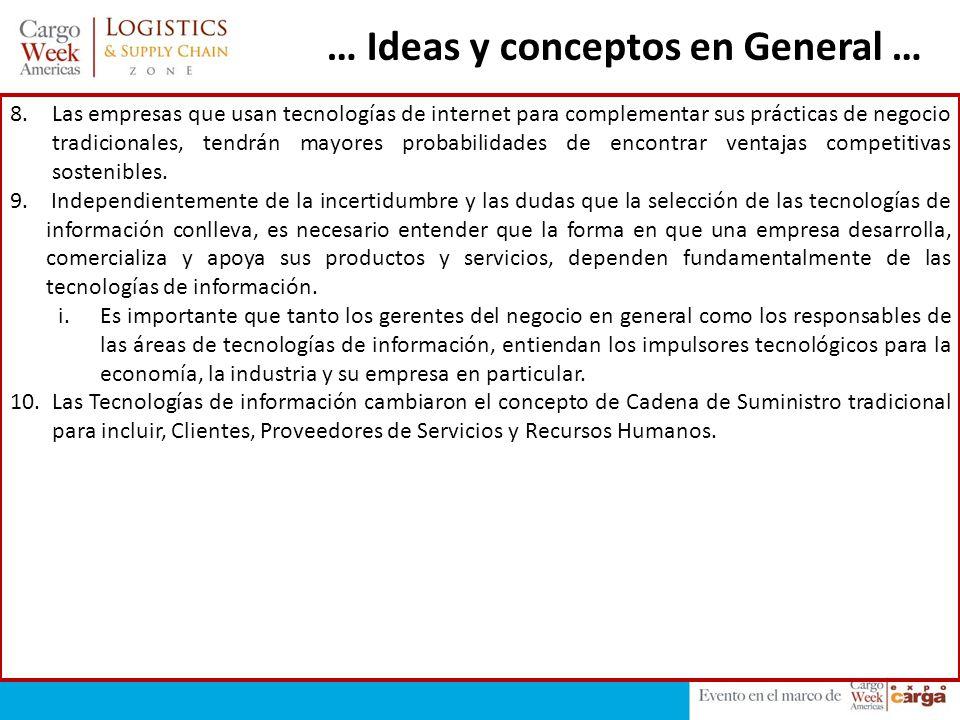 … Ideas y conceptos en General …