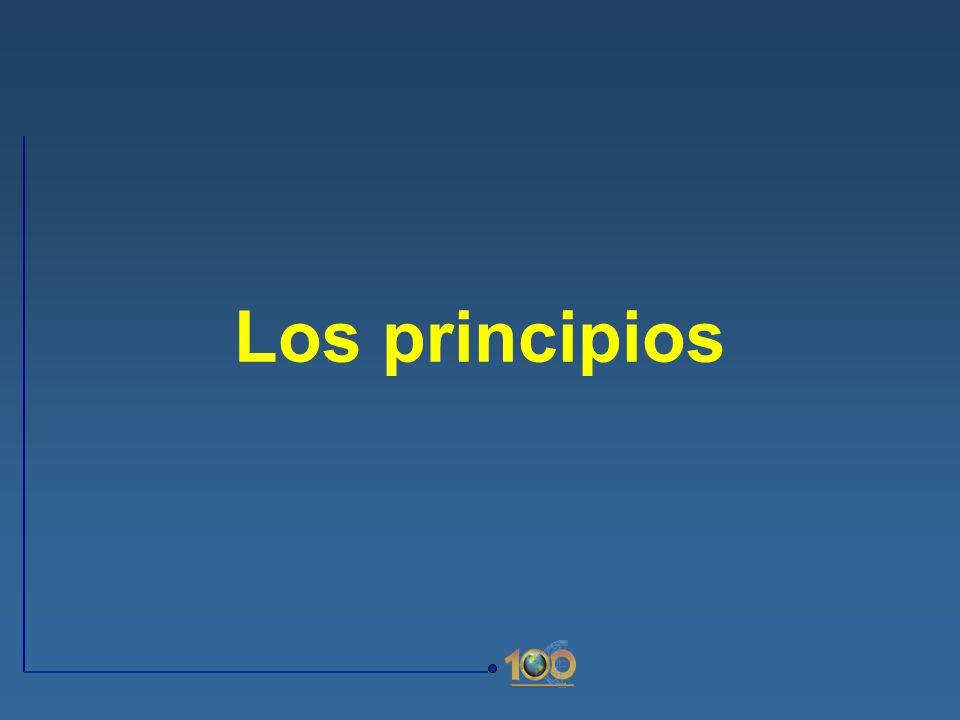 Los principios