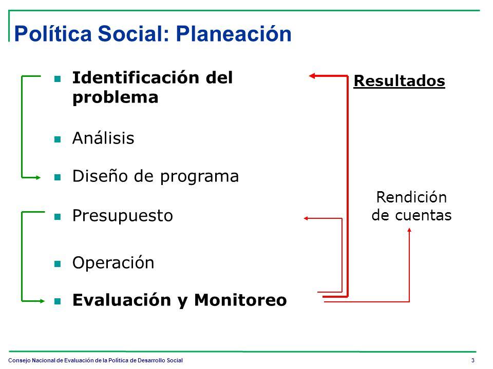 Política Social: Planeación