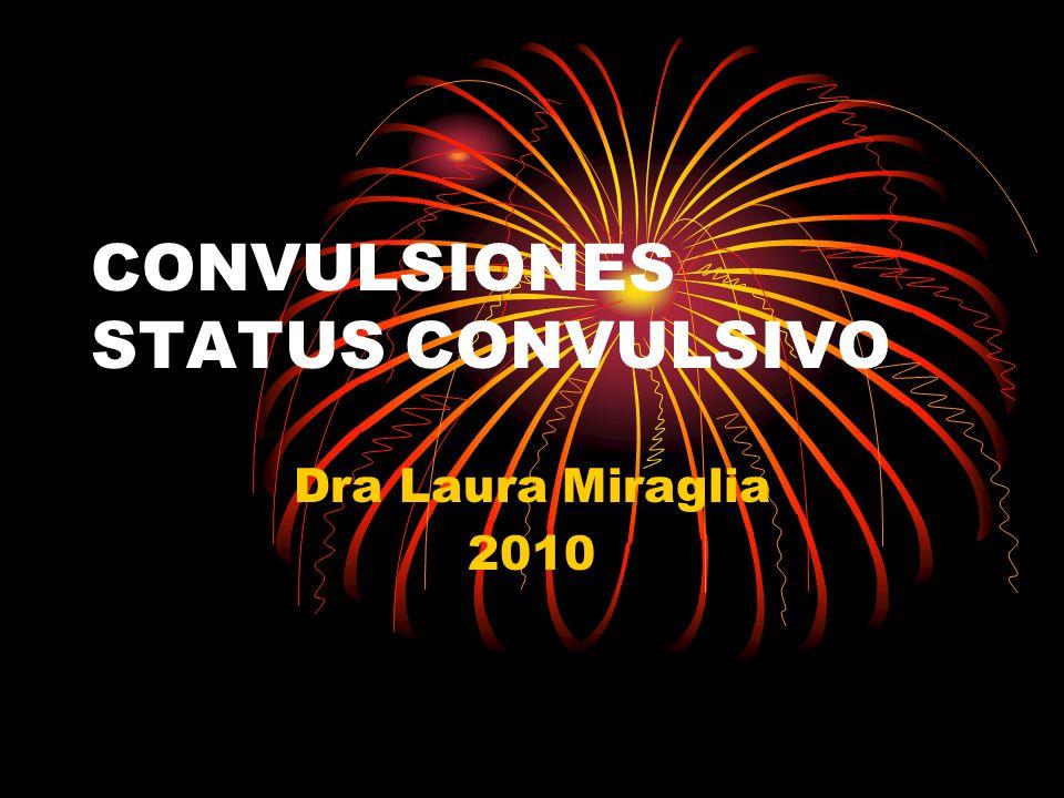 CONVULSIONES STATUS CONVULSIVO