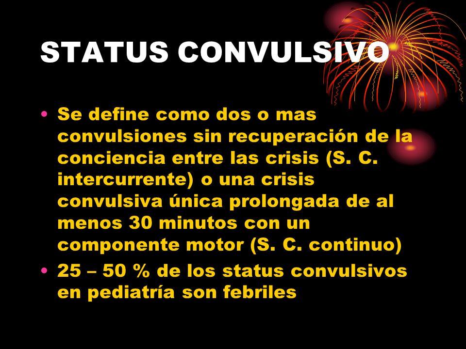 STATUS CONVULSIVO