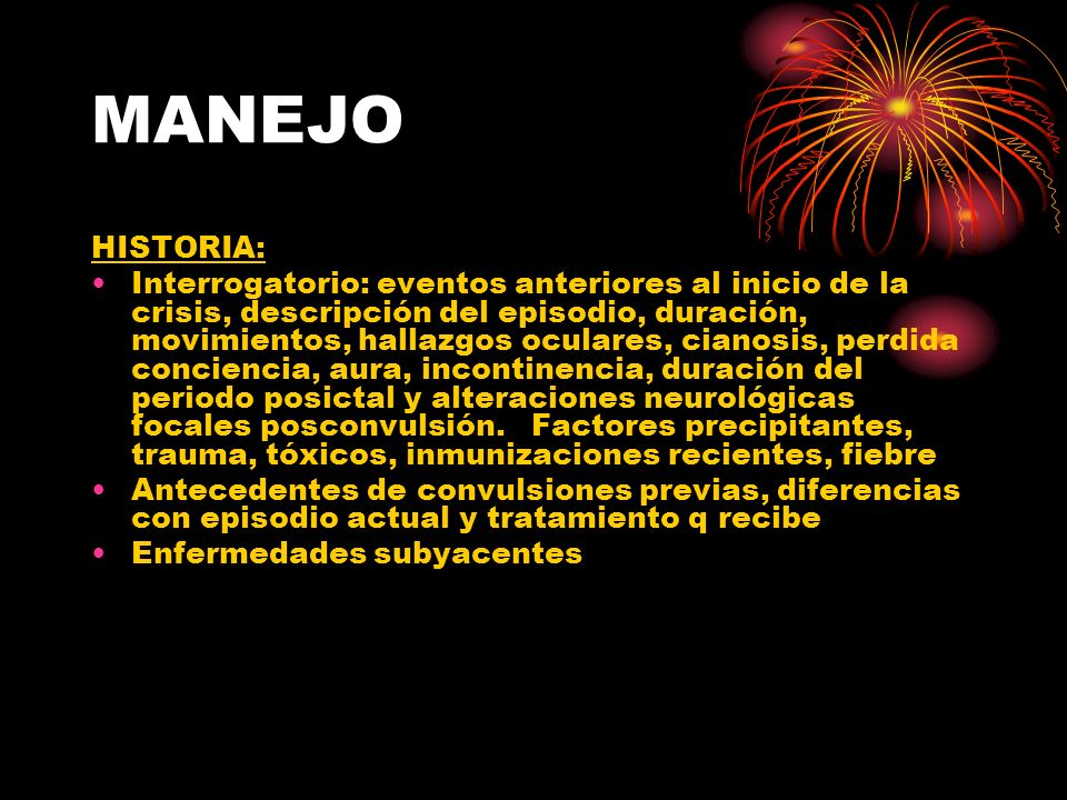 MANEJO HISTORIA: