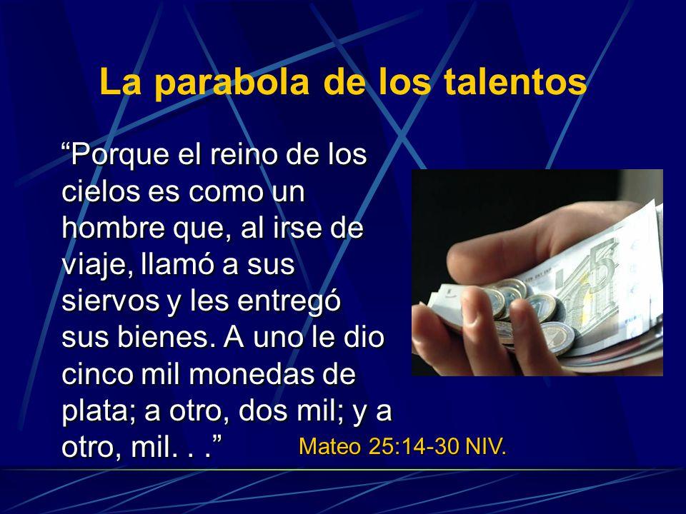La parabola de los talentos