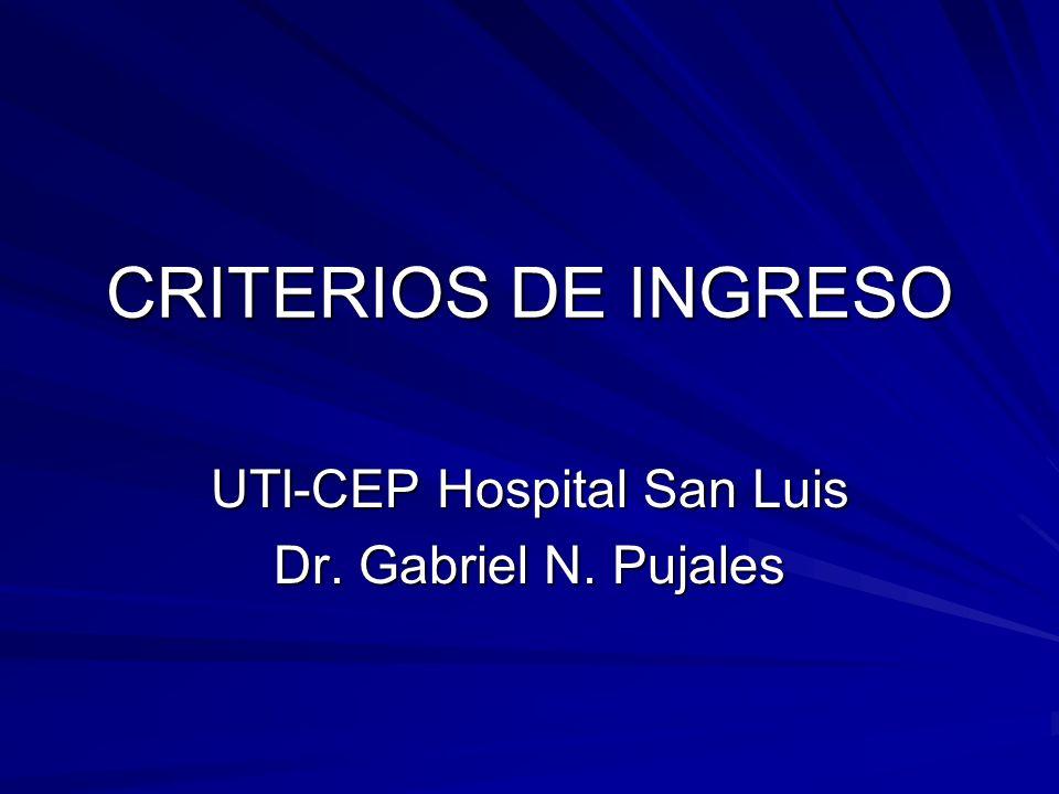 UTI-CEP Hospital San Luis Dr. Gabriel N. Pujales