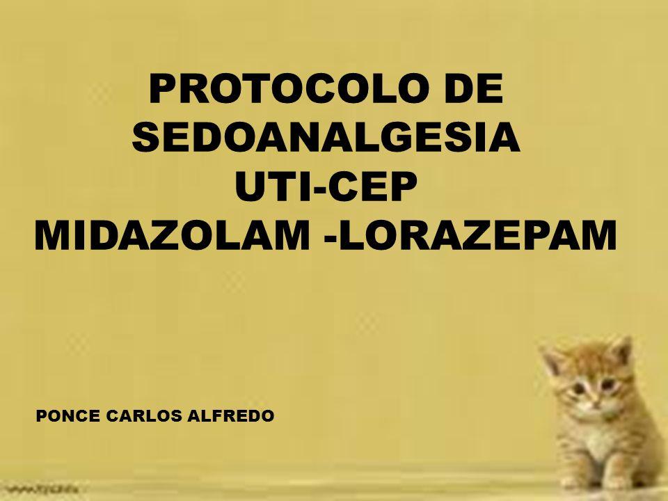 PROTOCOLO DE SEDOANALGESIA
