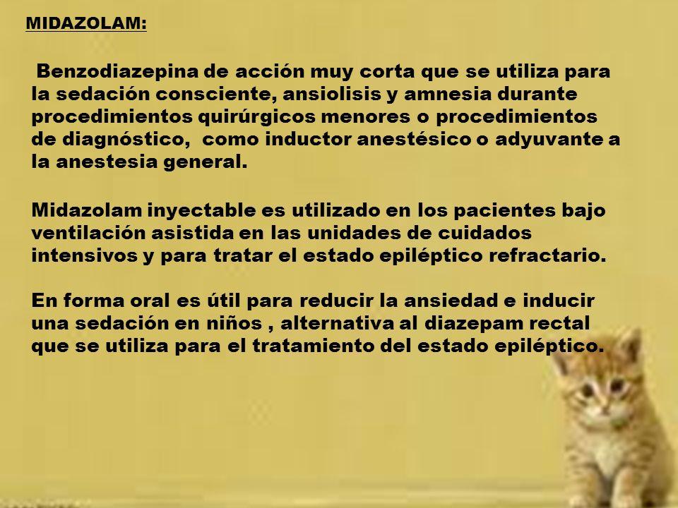 MIDAZOLAM: