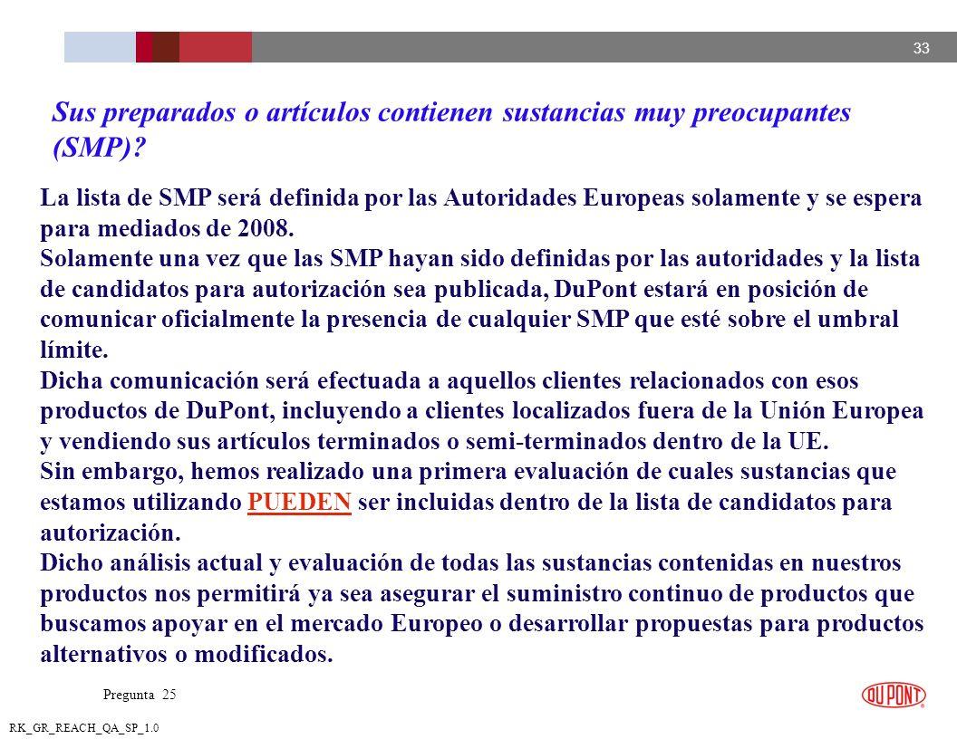 Sus preparados o artículos contienen sustancias muy preocupantes (SMP)