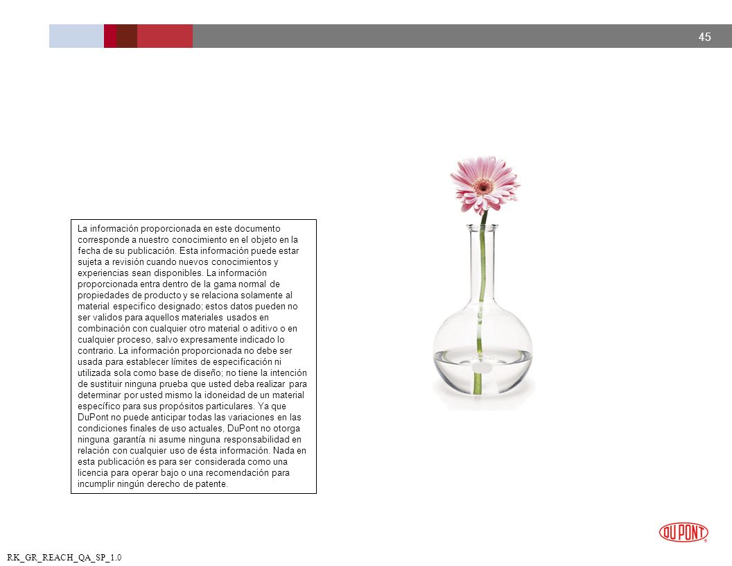 La información proporcionada en este documento corresponde a nuestro conocimiento en el objeto en la fecha de su publicación.