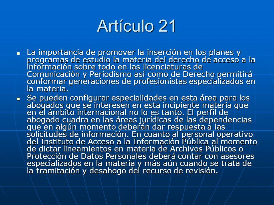 Artículo 21