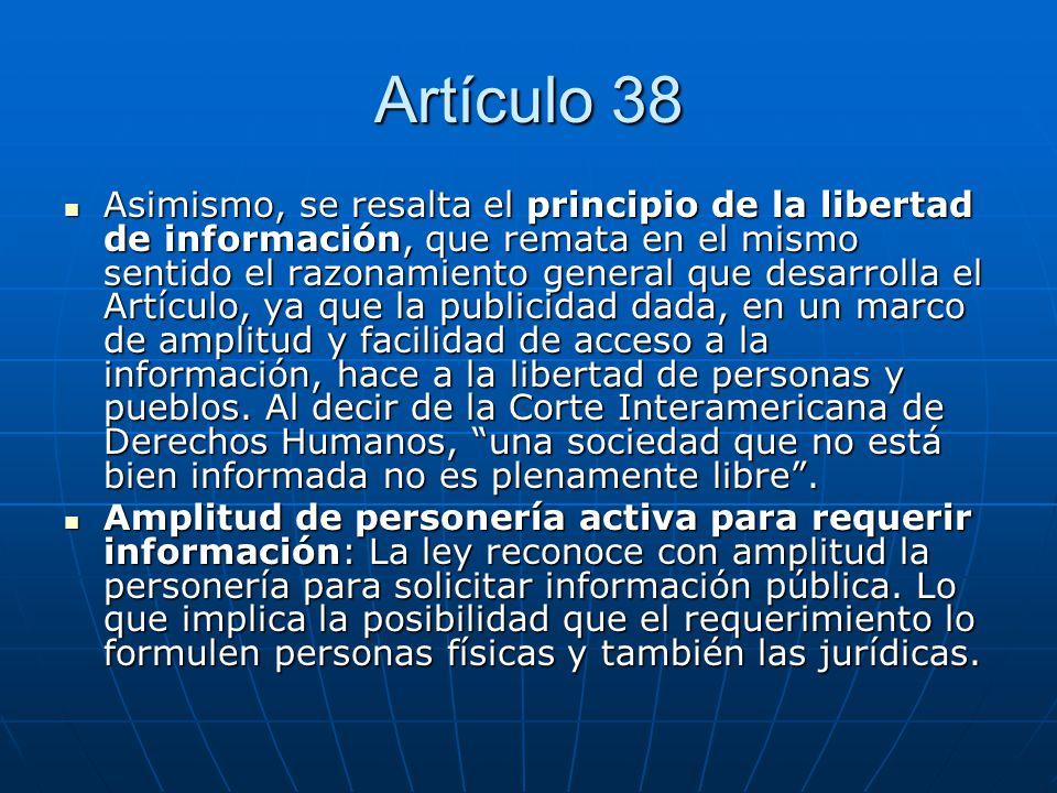 Artículo 38