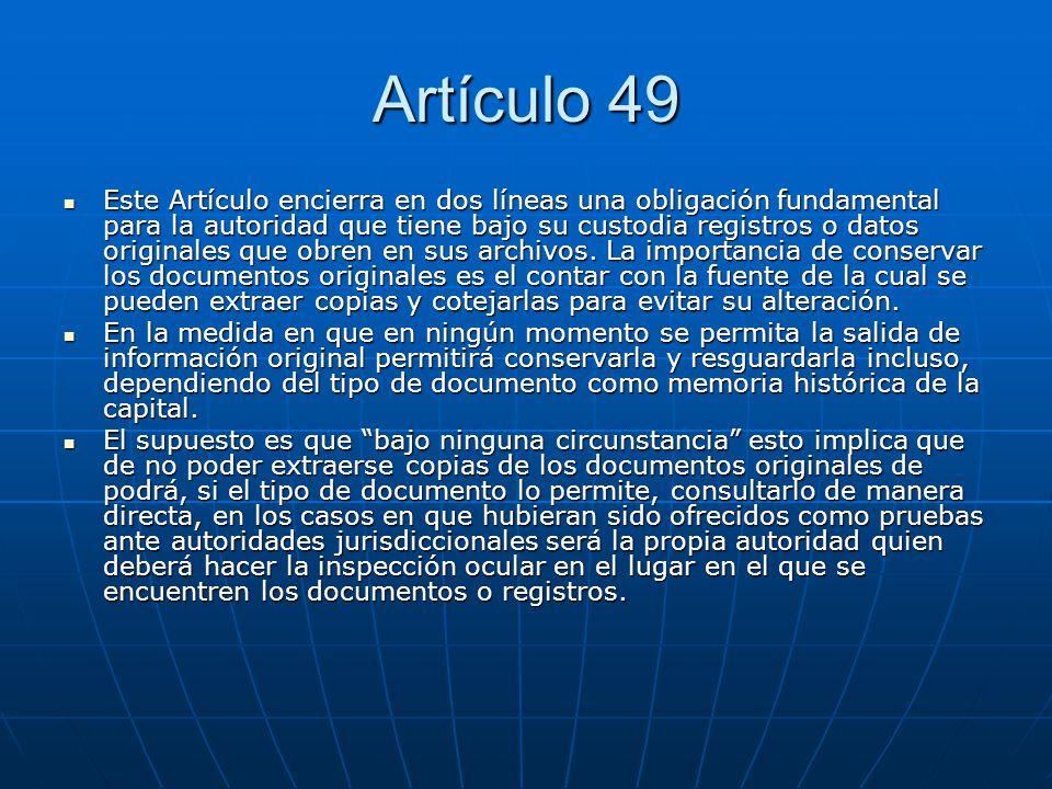 Artículo 49