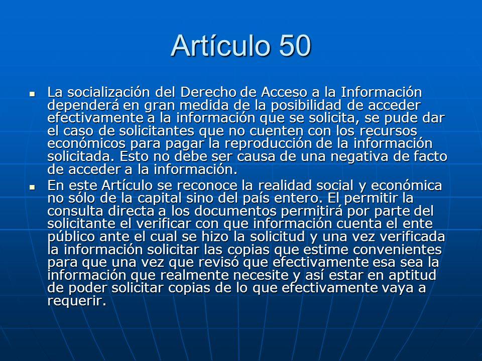 Artículo 50