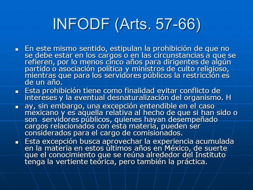 INFODF (Arts. 57-66)