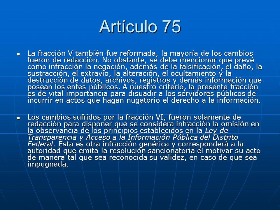 Artículo 75