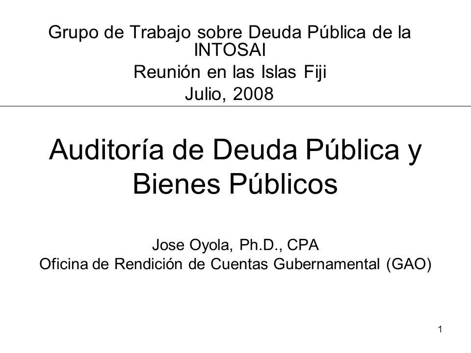 Grupo de Trabajo sobre Deuda Pública de la INTOSAI