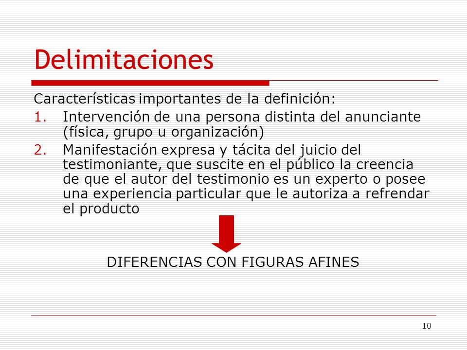 DIFERENCIAS CON FIGURAS AFINES