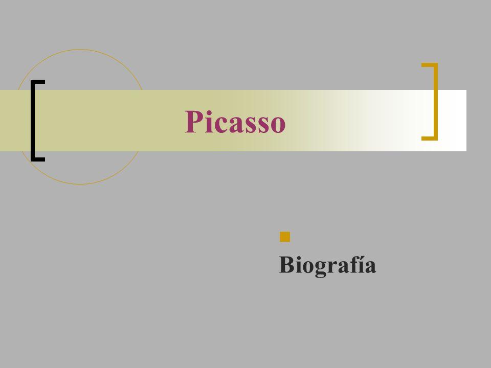 Picasso Biografía