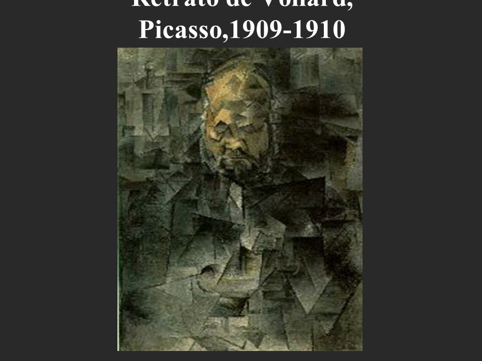 Retrato de Vollard, Picasso,1909-1910