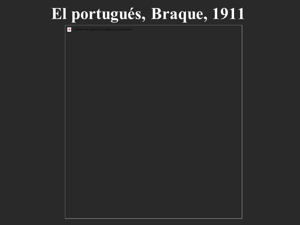 El portugués, Braque, 1911