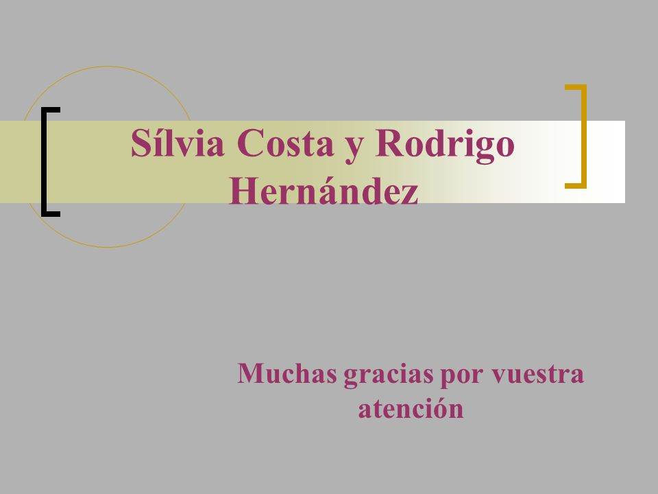 Sílvia Costa y Rodrigo Hernández