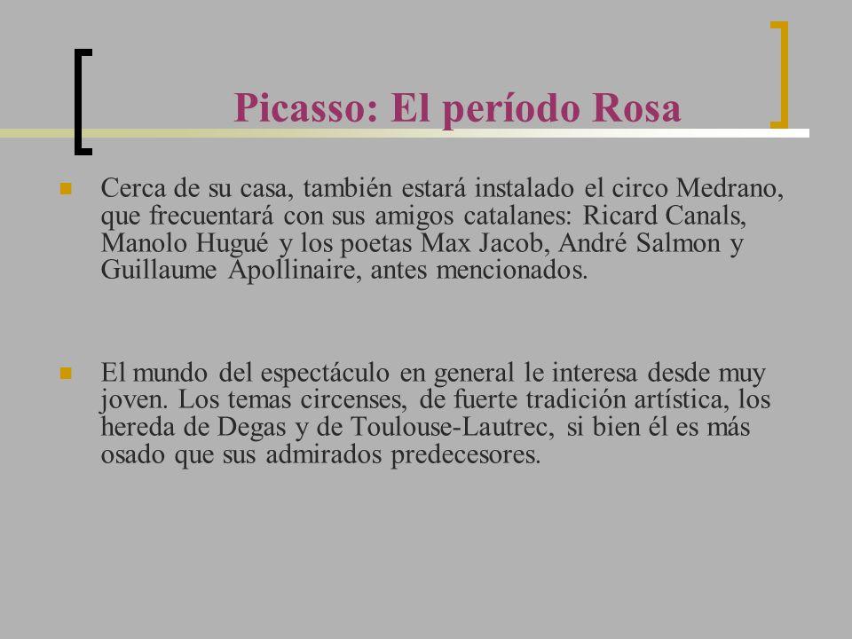 Picasso: El período Rosa