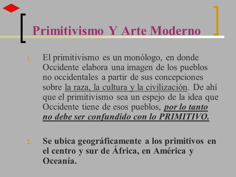 Primitivismo Y Arte Moderno