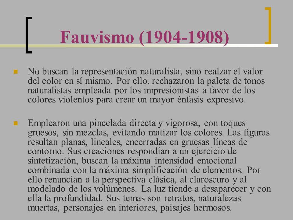 Fauvismo (1904-1908)