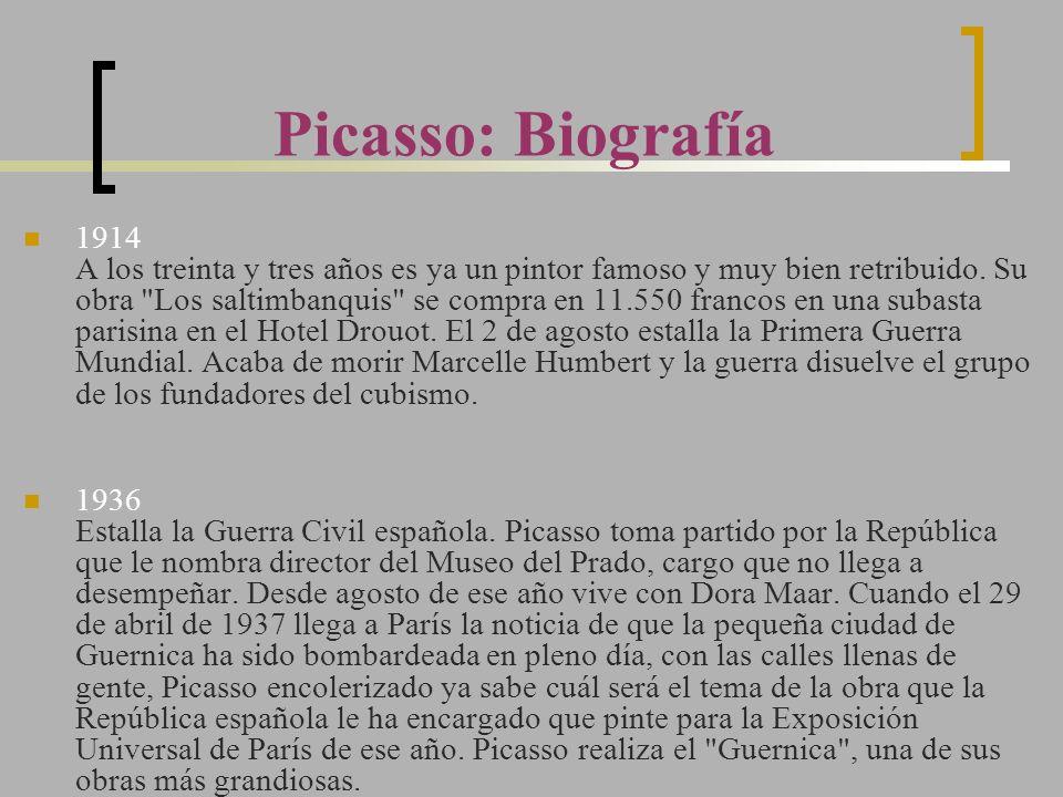 Picasso: Biografía
