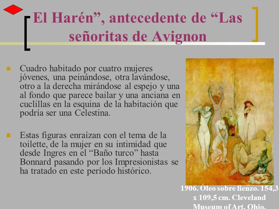 El Harén , antecedente de Las señoritas de Avignon