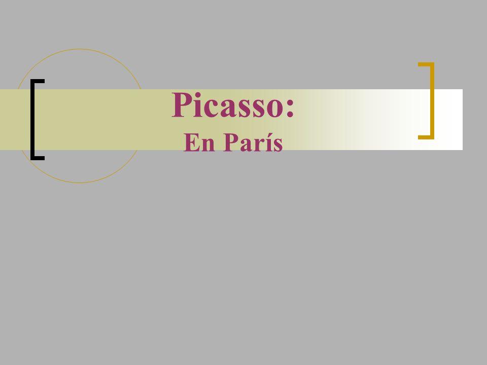 Picasso: En París