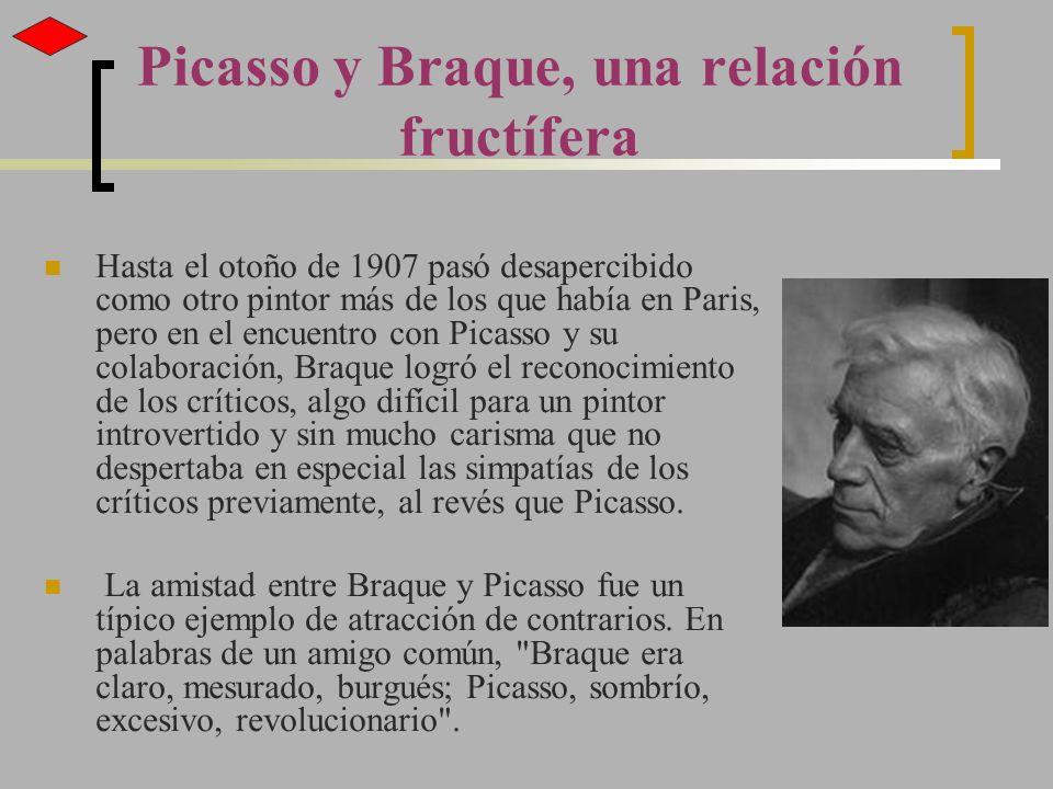 Picasso y Braque, una relación fructífera