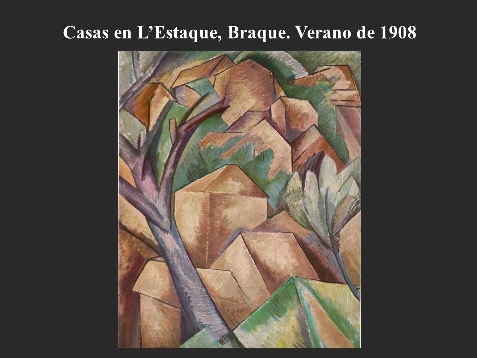 Casas en L'Estaque, Braque. Verano de 1908