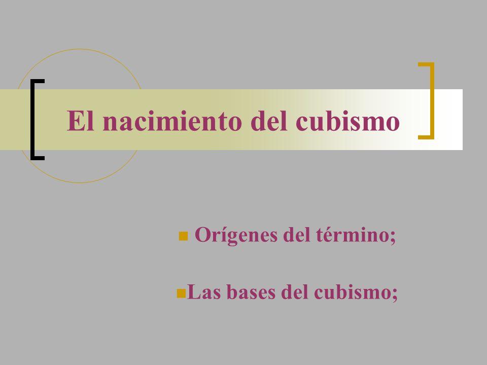 El nacimiento del cubismo