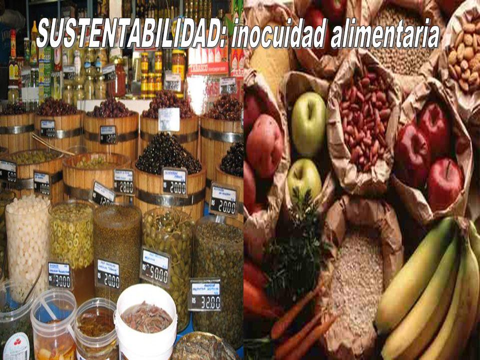SUSTENTABILIDAD: inocuidad alimentaria