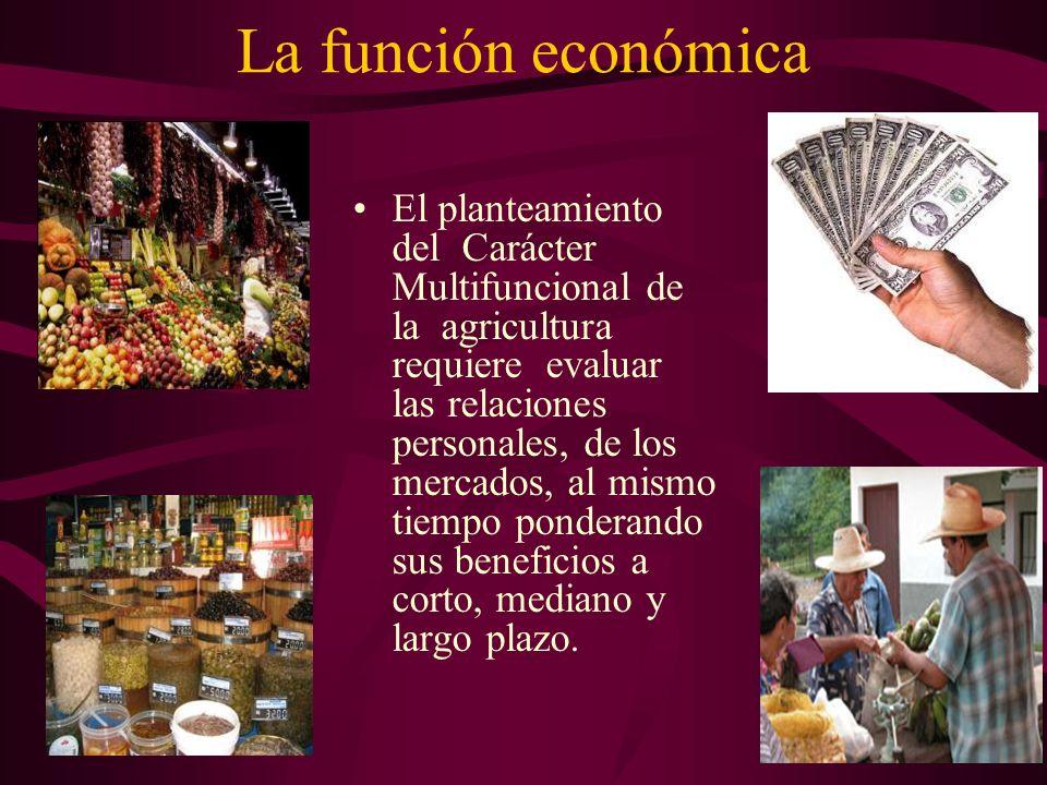 La función económica