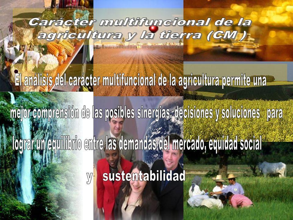 Carácter multifuncional de la agricultura y la tierra (CM )