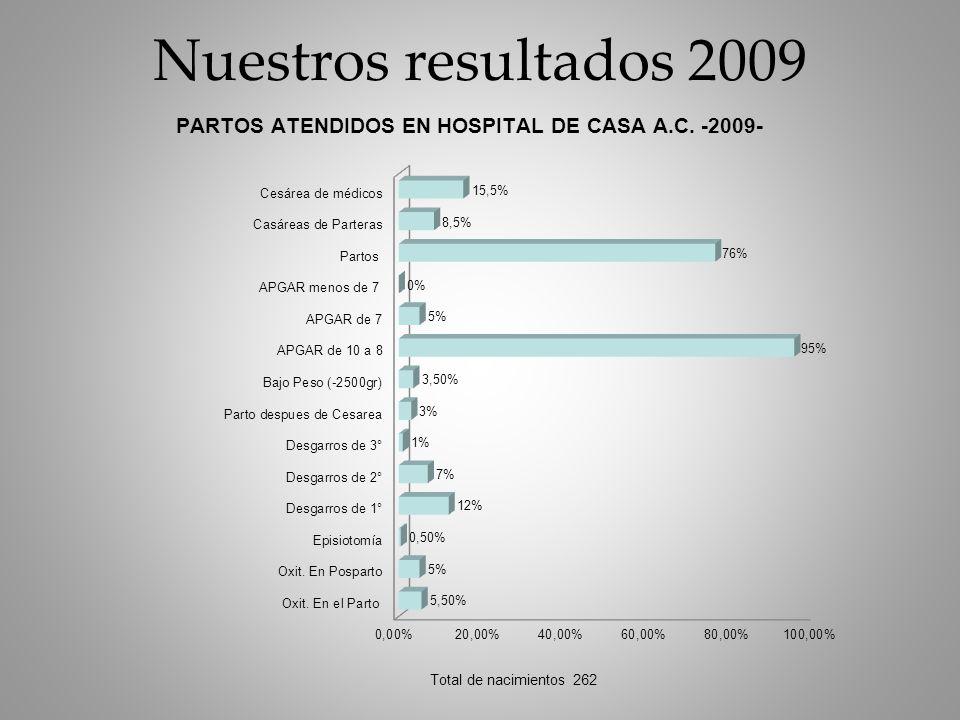 Nuestros resultados 2009