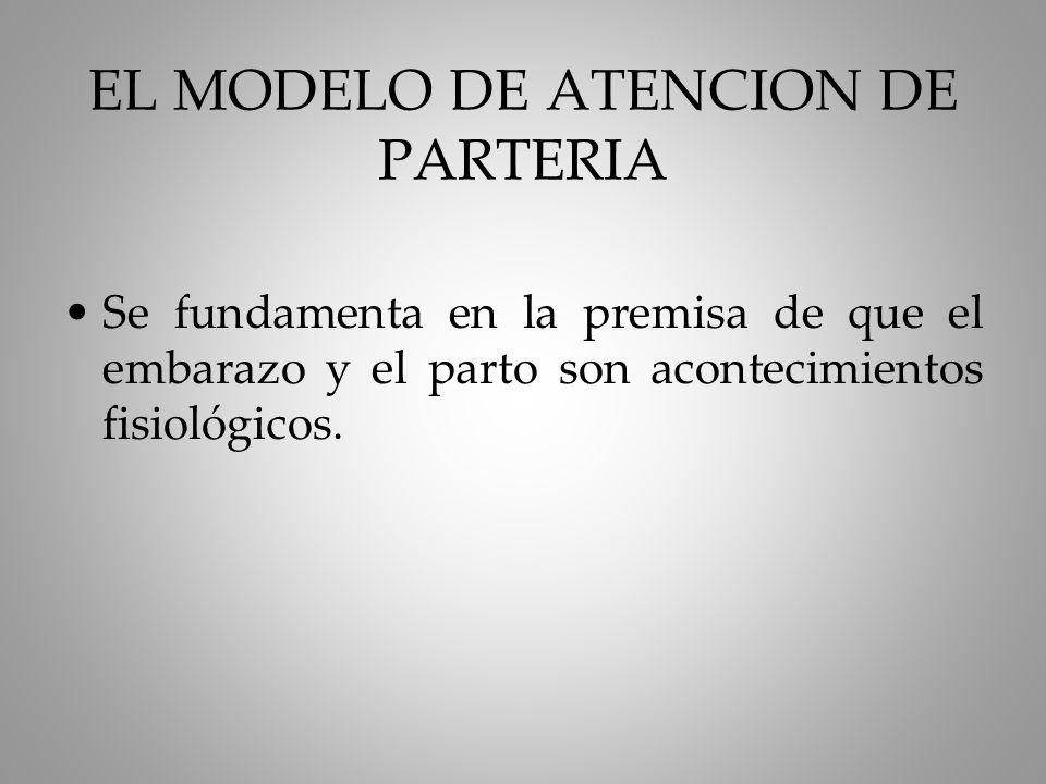 EL MODELO DE ATENCION DE PARTERIA