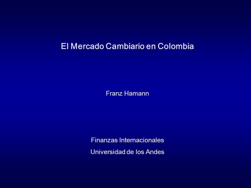 El Mercado Cambiario en Colombia