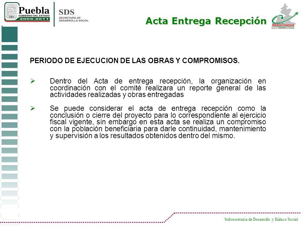 Acta Entrega Recepción