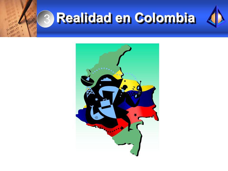 3 Realidad en Colombia.
