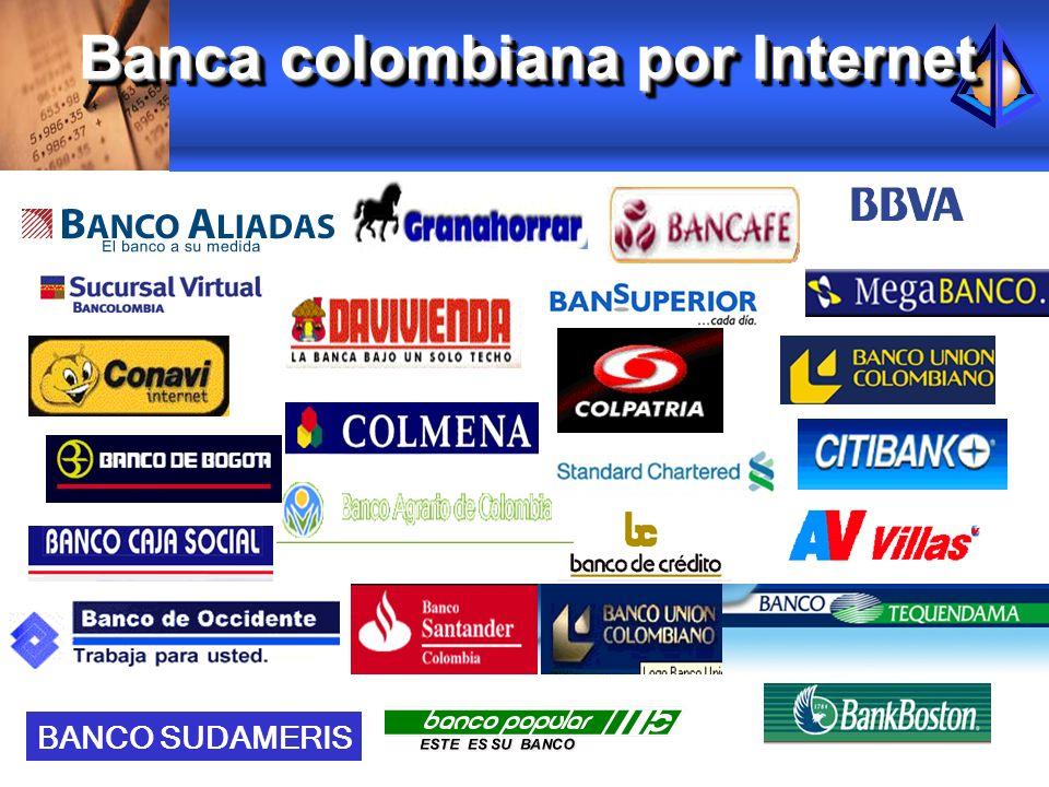 Banca colombiana por Internet