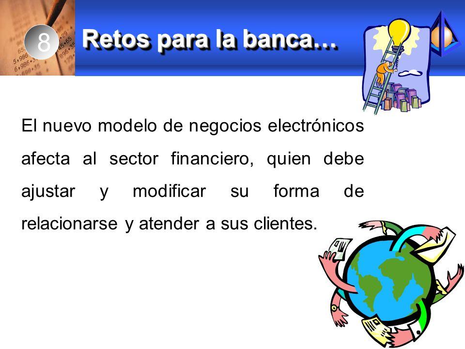 8 Retos para la banca…
