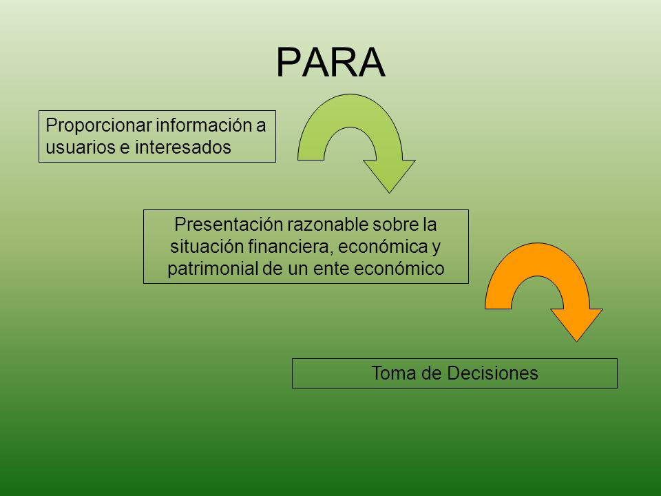 PARA Proporcionar información a usuarios e interesados