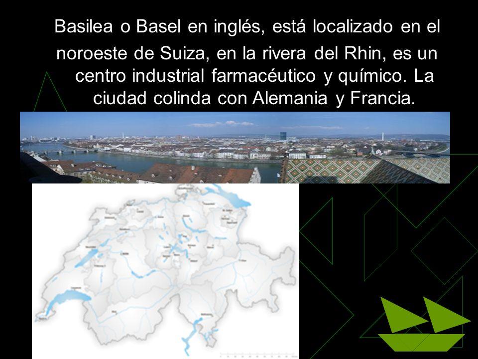 Basilea o Basel en inglés, está localizado en el