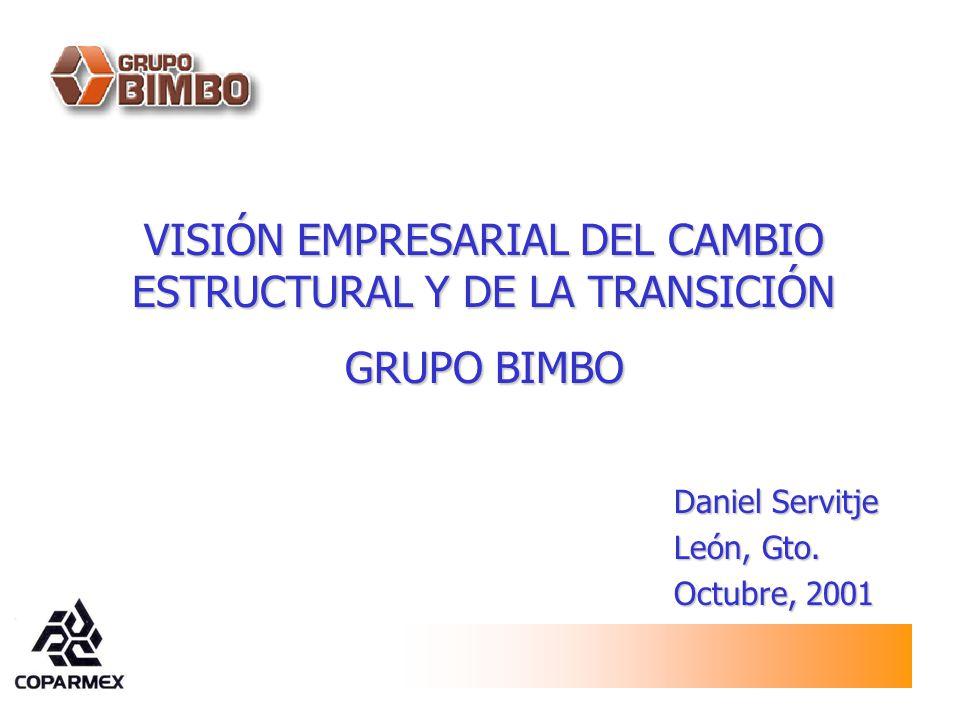 VISIÓN EMPRESARIAL DEL CAMBIO ESTRUCTURAL Y DE LA TRANSICIÓN