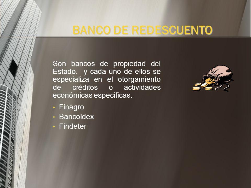 BANCO DE REDESCUENTO