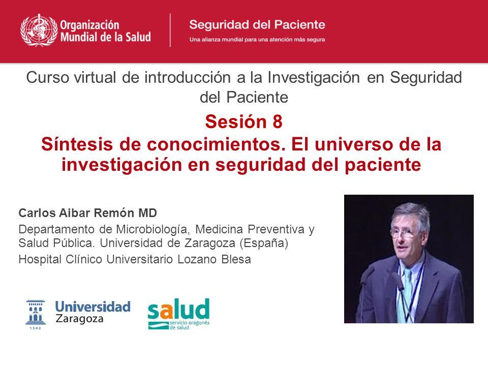 Curso virtual de introducción a la Investigación en Seguridad del Paciente