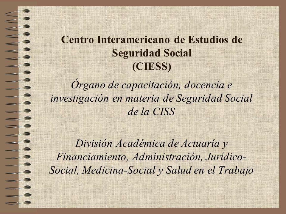 Centro Interamericano de Estudios de Seguridad Social (CIESS)